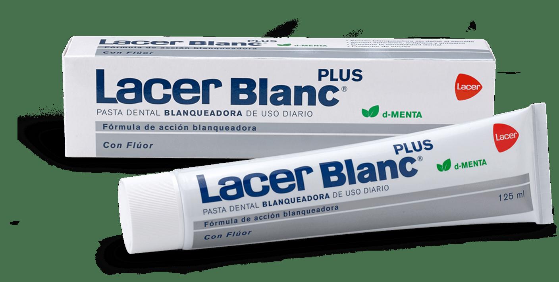 LacerBlanc Plus pasta dental blanqueadora