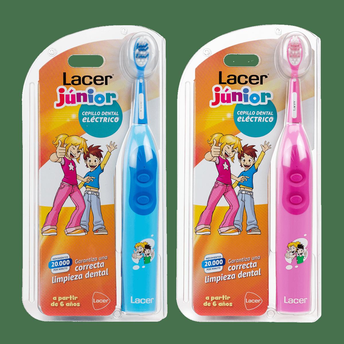 Lacer Júnior Cepillo Dental Eléctrico